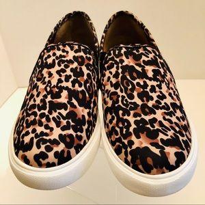 Steve Madden- Symba Leopard Size 9, sneakers
